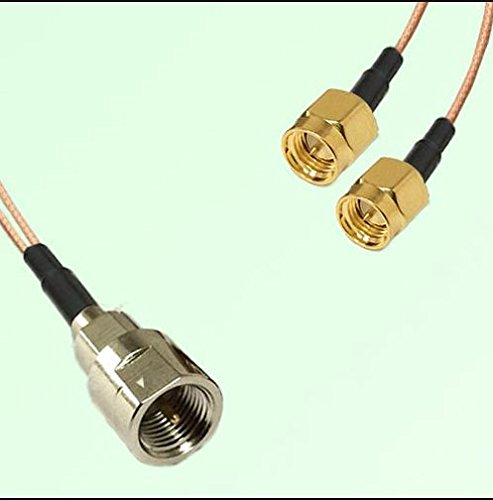 Dual SMA Male to Fme Male Connector Adapter Cable Citywirelessca