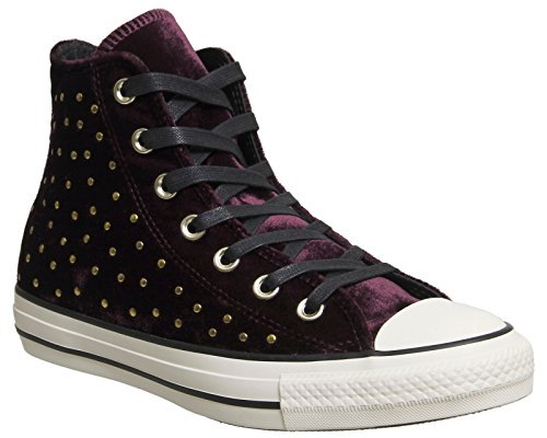 All Hi Fashion Sneakers Donna Star Pink Sangria Dark Converse d1EqZd