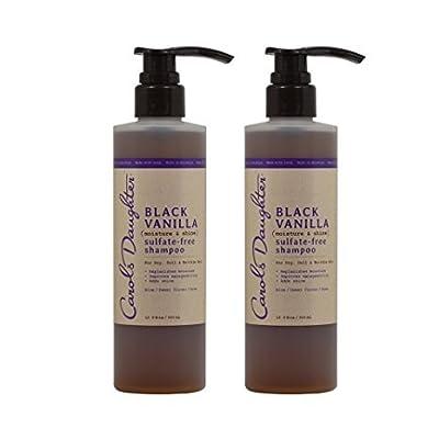 "Carol's Daughter Black Vanilla Moisture & Shine Sulfate-Free Shampoo 12oz ""Pack of 2"""