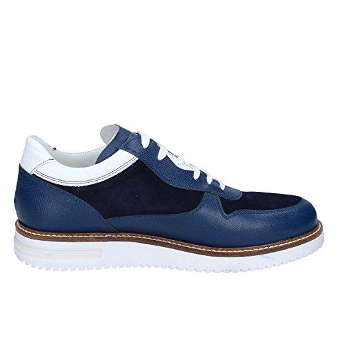Azul Zapatos Elegantes Gamuza Hombre Shoes Fdf wqU7xvnYn