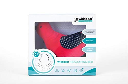 Baby Pink Whisbear Humming Bird WHISBIRD from The Soothing Bird Baby Sleep Aid