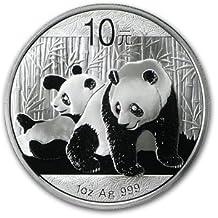 2010 China Panda Series - 1 Ounce Silver Coin