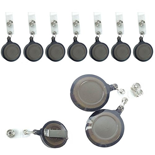 50 Pcs Per Pack New ID Badge Holder Reel Retractable Key Clip Wholesale Price -