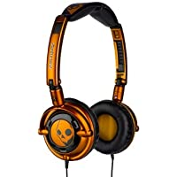 Skullcandy Lowrider Headphones S5LWCZ-039 (Orange) (Discontinued by Manufacturer)