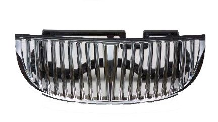 Lincoln Town Car 98-02 Front Grille Car - Chrome/PTD w/o LTS Models (Lincoln Town Car Chrome Grille)
