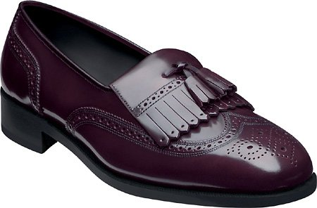 Florsheim Mens Lexington Kilty Nappa Mocassino Vino