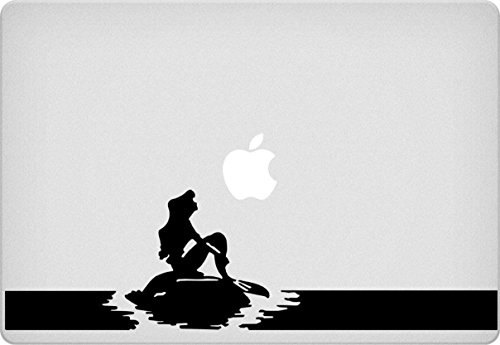 Heart-stirring Modern Mermaid Vinyl Decal Laptop Stickers Macbook Air Pro Mac 13