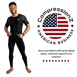 CompressionZ Men's Compression Pants Running Tights