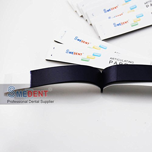 (Dental Blue Thin Articulating Paper Strips 20 sheets/book 10 books/Box New)