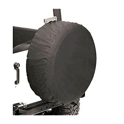 Bestop 61028-15 Black Denim Small Tire Cover for tires 28