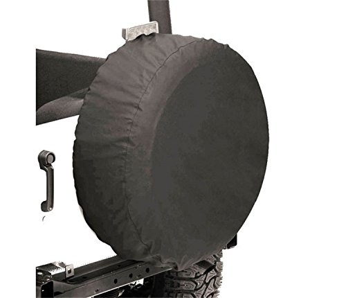 Bestop 61028-15 Black Denim Small Tire Cover for tires 28