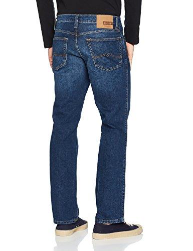 Jeans Mustang 5000 Blu Slim Uomo Oklahoma 882 dark qffC5Hw