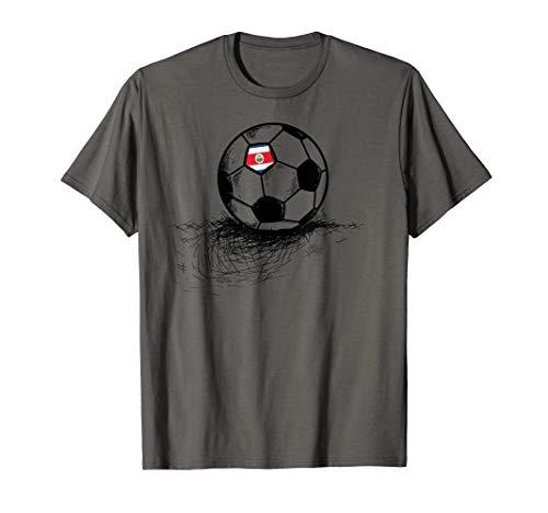 a267a019ba1 Costa Rica Soccer Ball Flag Jersey Shirt Costa Rica Football