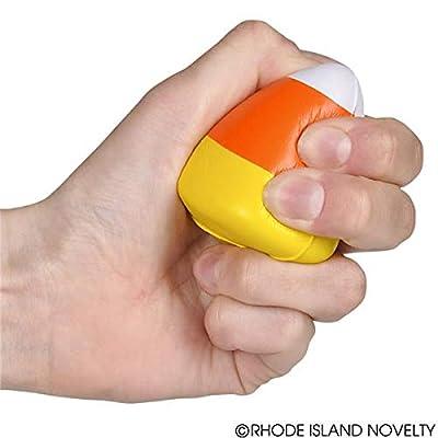 Rhode Island Novelty 2.5 Inch Mini Candy Corn Stress Toys, Two Dozen: Toys & Games
