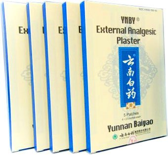 YNBY externes analgésiques plâtre 5 boîtes (25 patchs)