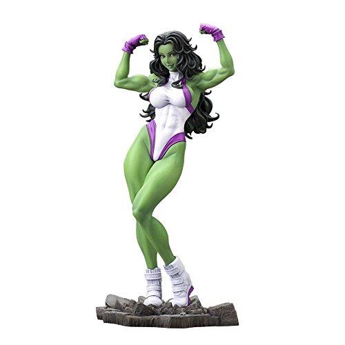 Kotobukiya Marvel Comics Estatua Bishoujo del personaje She-Hulk