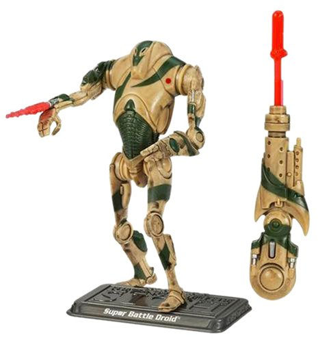 Super Battle Collection (Star Wars - The Saga Collection - Basic Figure - Super Battle Droid)