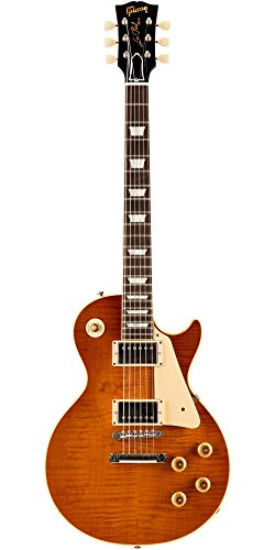 Gibson Custom 1959 Historic Select Les Paul Electric Guitar Beauty of the Burst Page (1959 Les Paul Electric Guitar)