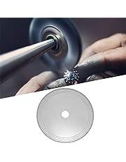 Disco de corte, pieza de diente recto de 150 mm / 300 mm Hoja de disco de sierra lapidaria de diamante Hoja de disco de corte de diamante para gema de jadeíta de ágata cristalina(150)
