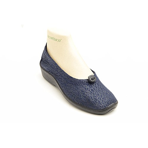 Arcopedico 4231 L14 Womens Flats Shoes, Navy, Size - 42
