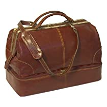 Floto Positano Grande Vecchio Brown Leather Bag