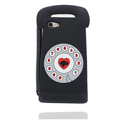 """iPhone 7 Plus Coque, iPhone 7 Plus Étui housse, [ TPU Material Flexible ] iPhone 7 Plus Case (5.5""""), 3D téléphone Résistant aux rayures et ring Support de téléphone"""