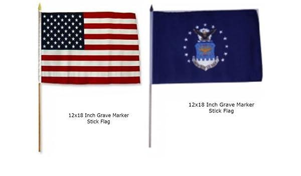 12 in 50 Star U.S Flag X 18 in
