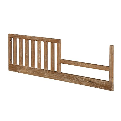 Bertini Pembrooke Toddler Bed Conversion kit in Natural Rustic by Dorel Living