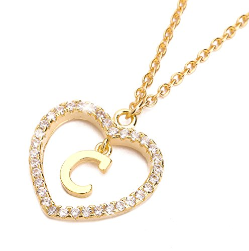 ForeveRing Z Letter Pendant Necklace A-Z Initial Necklace for sale  Delivered anywhere in USA