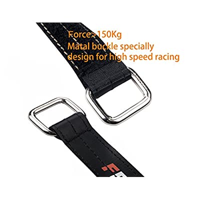 RJX 4 PACK 250x20mm Non-Slip Silicone Battery Straps Steel buckle for FPV Quadcopter Drone (250mmX20mmx4pcs) Black: Musical Instruments