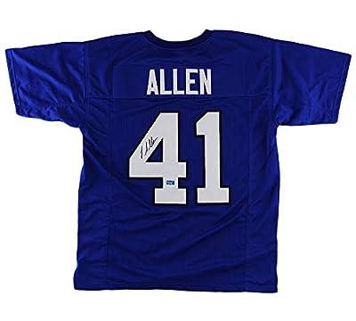 Josh Allen Autographed/Signed Kentucky Custom Blue Jersey
