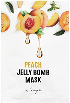 Frecipe - Peach Jelly Bomb Mask 5 Pack, Mascarilla Facial 5 ...