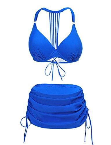 Perfashion - Conjunto - para mujer Azul