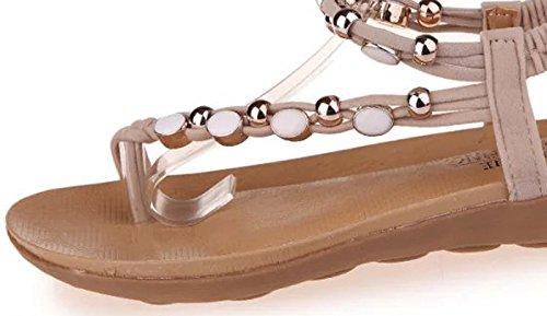 Donalworld Girl Summer Beach Zapatos T Correa Sandalias De Cuña Flip Flop Pt2