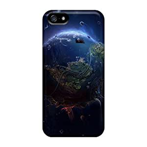 New Heaven And Hell Tpu Case Cover, Anti-scratch Charming YaYa Phone Case For Iphone 5/5s