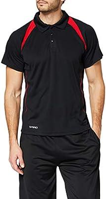 Spiro Team Spirit Camiseta de cuello polo deportiva para Hombre ...