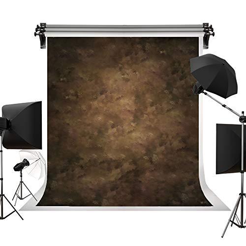 (Kate 5x7ft/1.5x2.2m(W:1.5m H:2.2m) Brown Background Portrait Photography Abstract Texture Backdrop Photography Studio Props Photographer Kids Children)