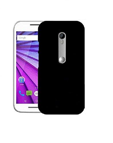 COVERNEW Plastic Back Cover for Motorola Moto G  3rd Gen    Black 1HPlasticBackMotoG3Black Mobile Accessories