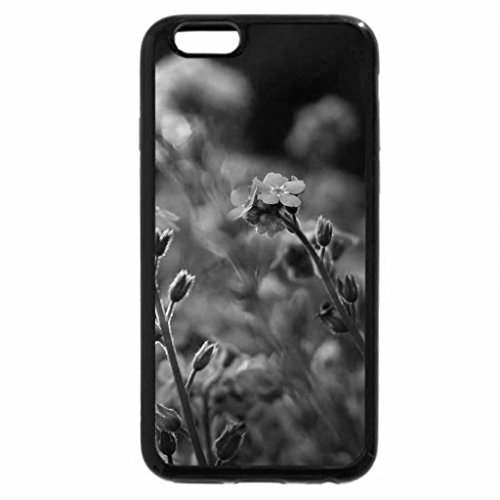 iPhone 6S Plus Case, iPhone 6 Plus Case (Black & White) - FORGET ME NOT