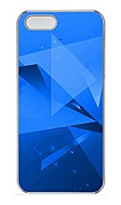 iPhone 5 5S Case Abstract Geometric NB PC Custom iPhone 5 5S Case Cover Transparent
