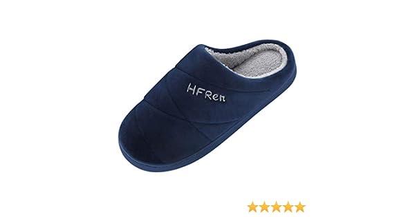Xinantime Zapatillas de Estar por Casa, Hombres Parejas Colores Lisos Calzado Antideslizante Zapatillas de Interior Suaves Antideslizante Pantuflas de Interior y Exterior Cálido y Confortable: Amazon.es: Ropa y accesorios