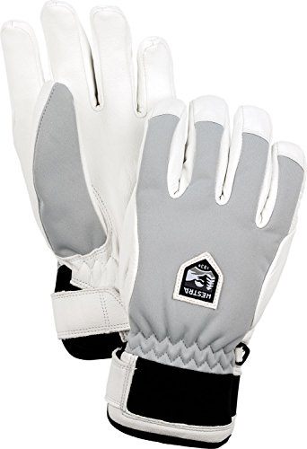 Hestra Gloves Women's 30490 Moje Czone Gloves, Misty grey - 7 by Hestra Gloves