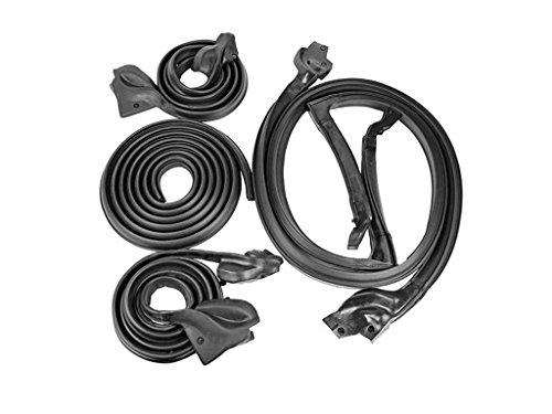 Make Auto Parts Manufacturing - Set of 5 Basic Hardtop Weatherstrip Seal Kit for Chevy Camaro Firebird (Hardtop Weatherstrip Kit)