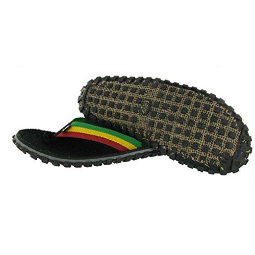 Sandalias Oficiales De Franela Bob Marley Fresco Para Hombre Tamaño De Impresión Rasta 14