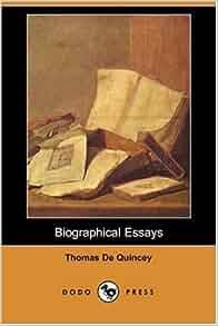 thomas de quincey essays