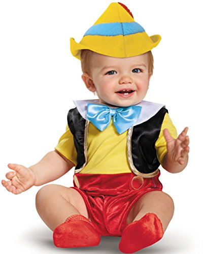 Disguise Baby Boys' Pinocchio Infant Costume, Multi, 6 to 12 Months ()