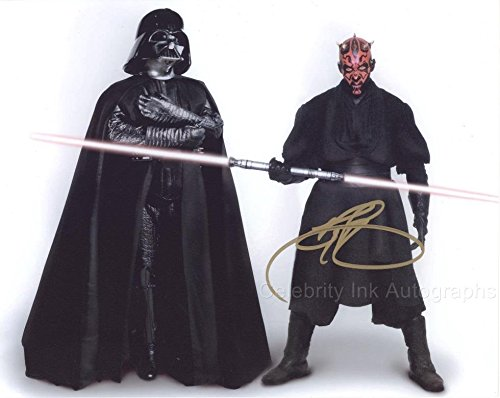 RAY PARK as Darth Maul - Star Wars: Episode I GENUINE AUTOGRAPH