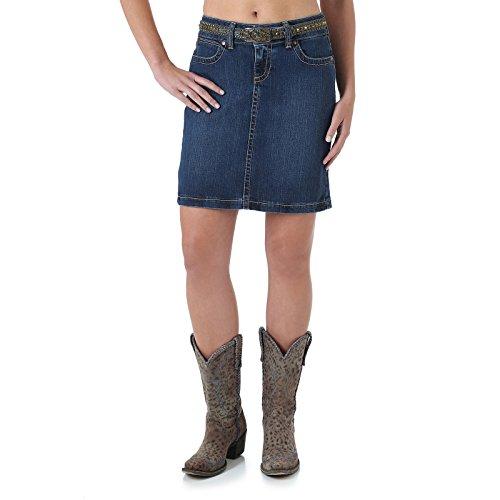 Wrangler Women's Mae Denim Skirt 15