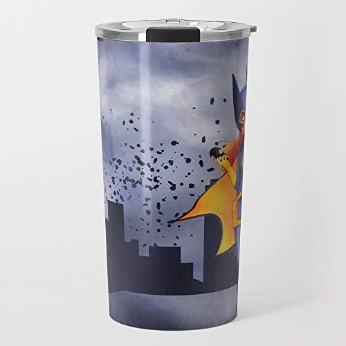 Society6 Stainless Steel Travel Coffee Mug, 20 oz, Batgirl by zaziebulles -