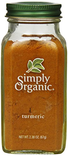 Simply Organic Turmeric Root Ground Certified Organic, 2.38-Ounce Container